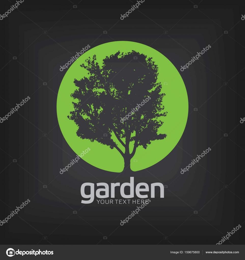 Cartel de plantilla de diseño de jardines — Vector de stock ...