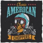 Fotografia Classic American Choppers Poster