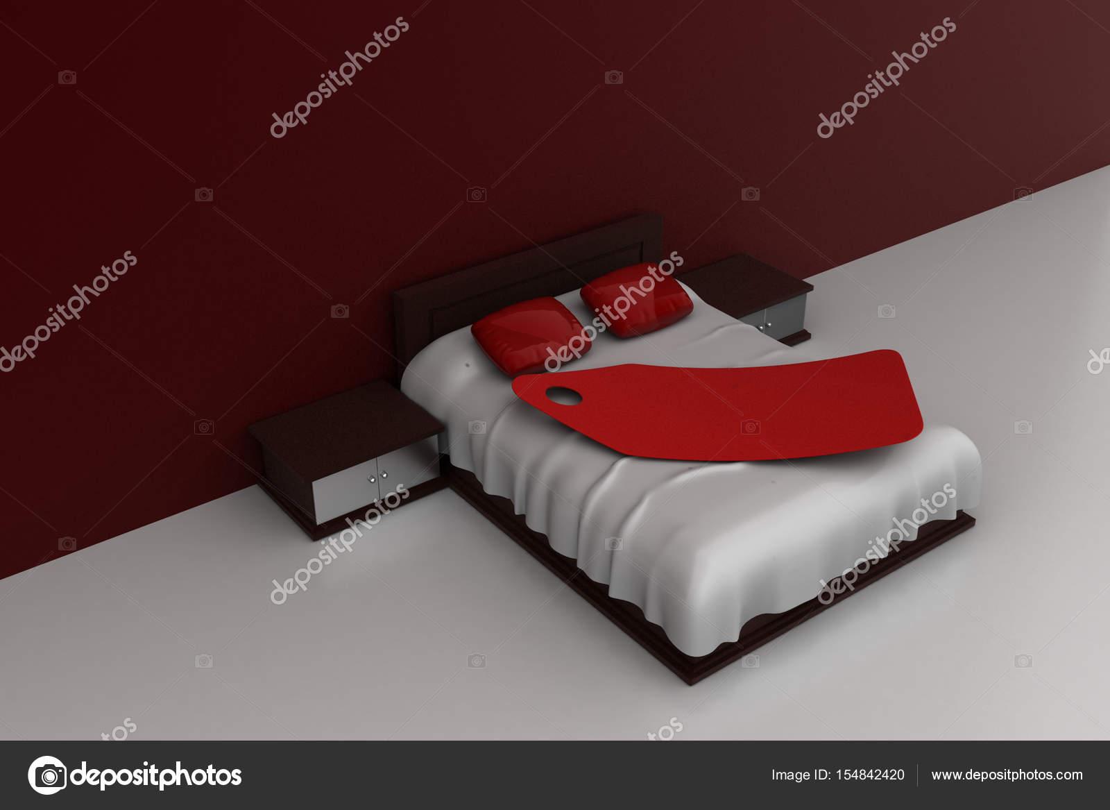 Letti Di Lusso Prezzi : Illustrazione d del letto di lusso con cartellino del prezzo