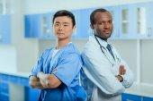 Fotografie Ärzte in medizinischen Uniformen
