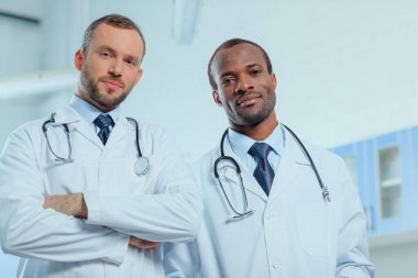 doctors in medical uniforms