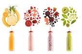 different healthy smoothies