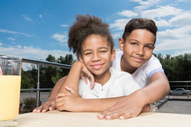 adorable african-american kids