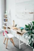 minimalistický pokoj interiér