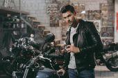 Fotografie motorkář