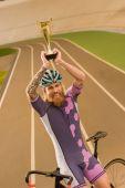 cyklista s champion cup