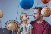 Apa és lánya bolygók modell