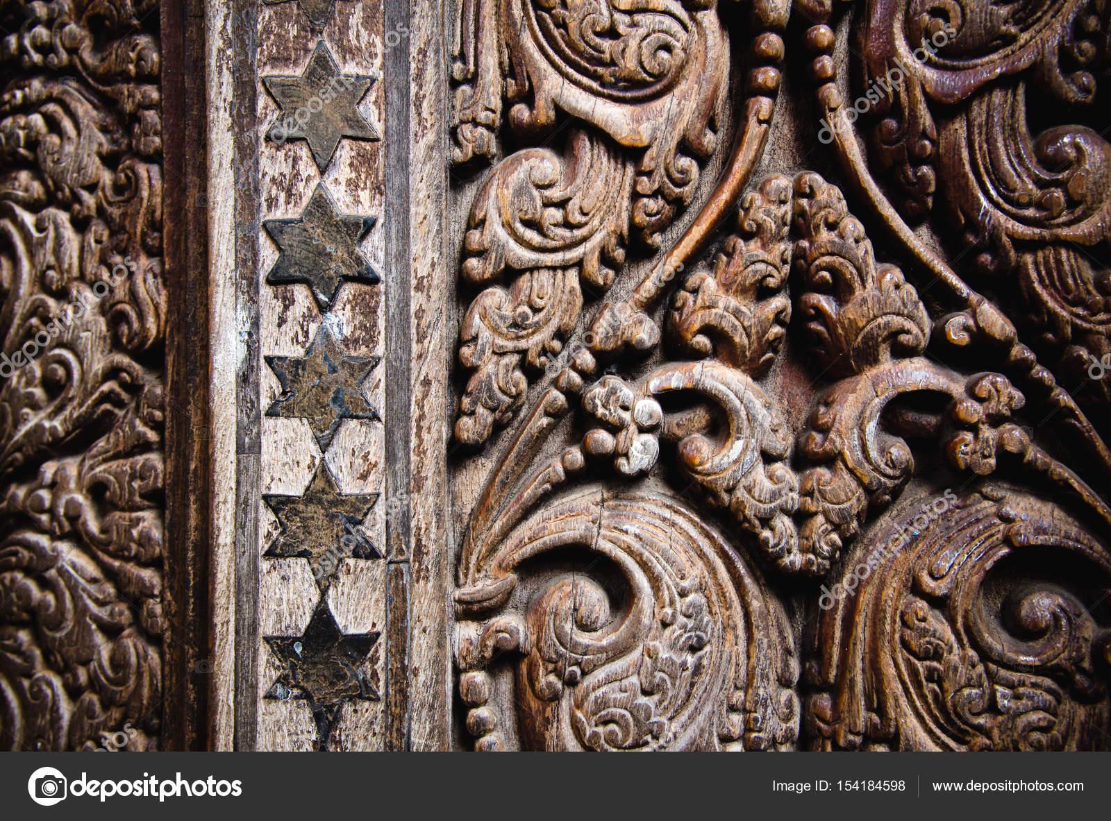 depositphotos stock photo beautiful wood carving on ancient