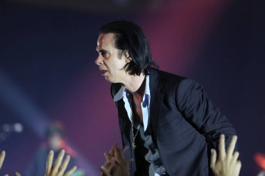 Nick Cave and the Bad Seeds band.