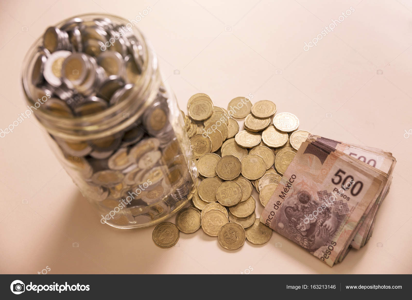 Save mexican peso — Stock Photo © hayaship #163213146