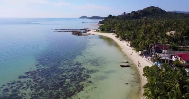 Beautiful Beach Taling Ngam on Island Samui in Thailand