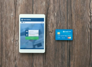 Digital touch screen tablet and credit card
