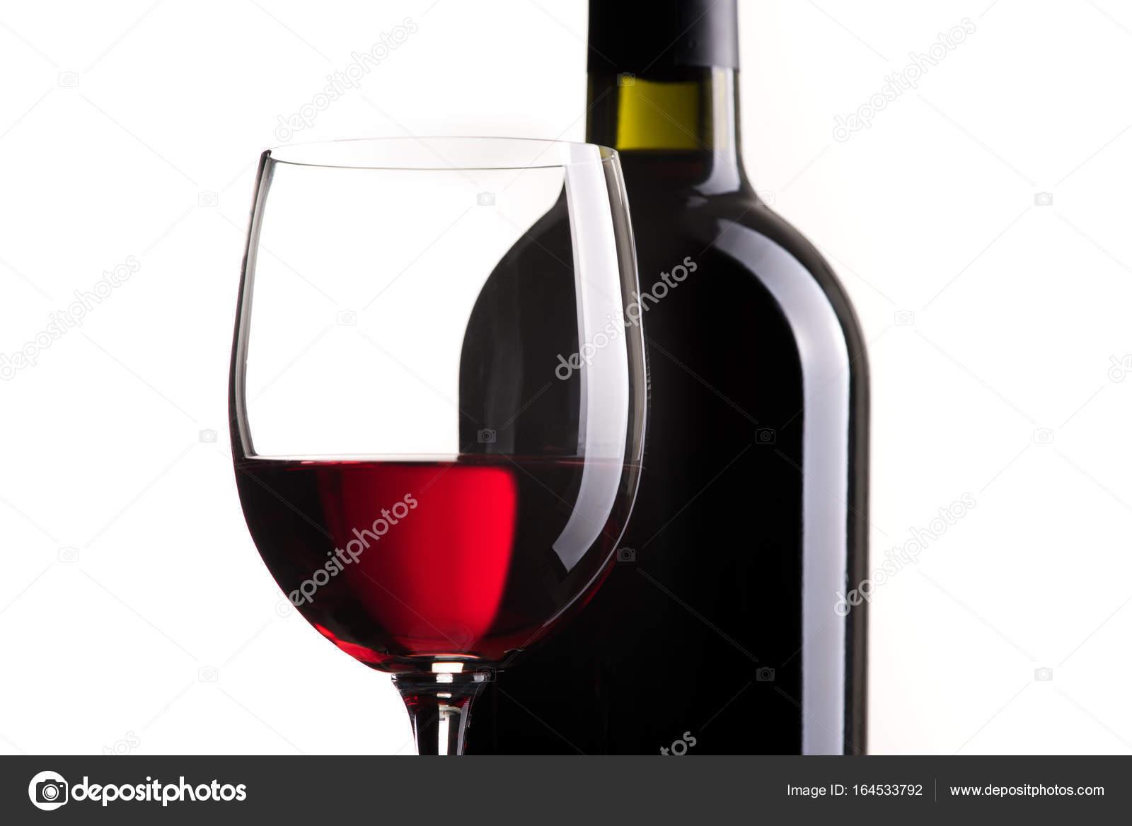 Butelka Wina I Lampka Zdjęcie Stockowe Stokkete 164533792