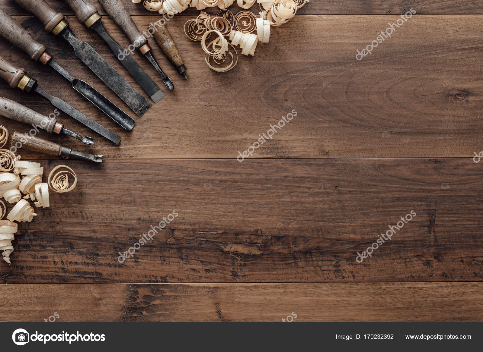 Super Old Carpentry Tools On A Workbench Stock Photo C Stokkete Machost Co Dining Chair Design Ideas Machostcouk