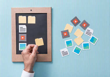 File selection, management and organization
