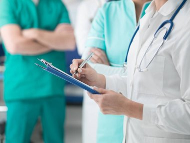 healthcare and medical exams concept