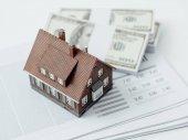 Fotografie domácí koncept půjčky a investice