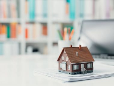 investments and home loan concept