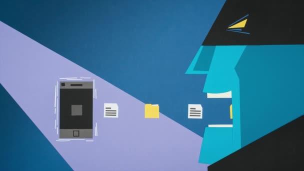 Hacker di rubare i dati da uno smartphone