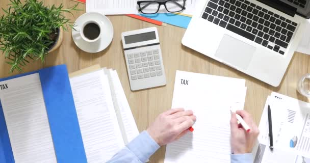 Podnikatel, kontrola daňové formuláře