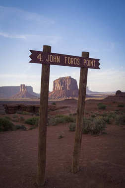 Monument Valley, view from John Fords Point