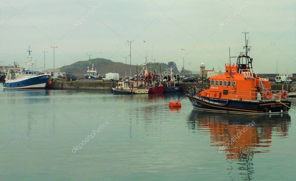 Picture of the Harbour in Howth