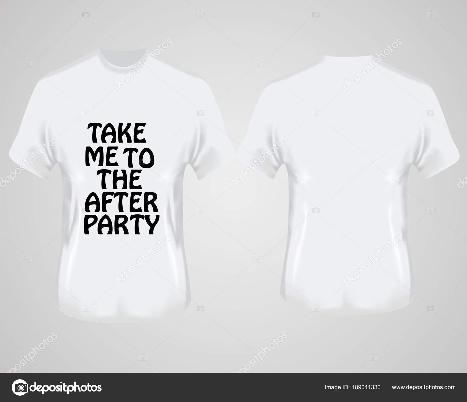 EspaldaCamiseta Con Blancas Frente Camisetas Y Sobre Gris Fondo XZOPkiTu