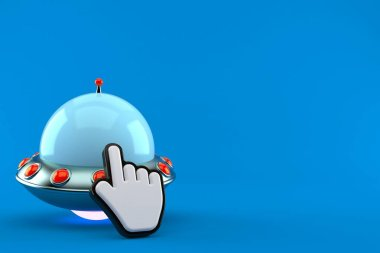 UFO with web cursor