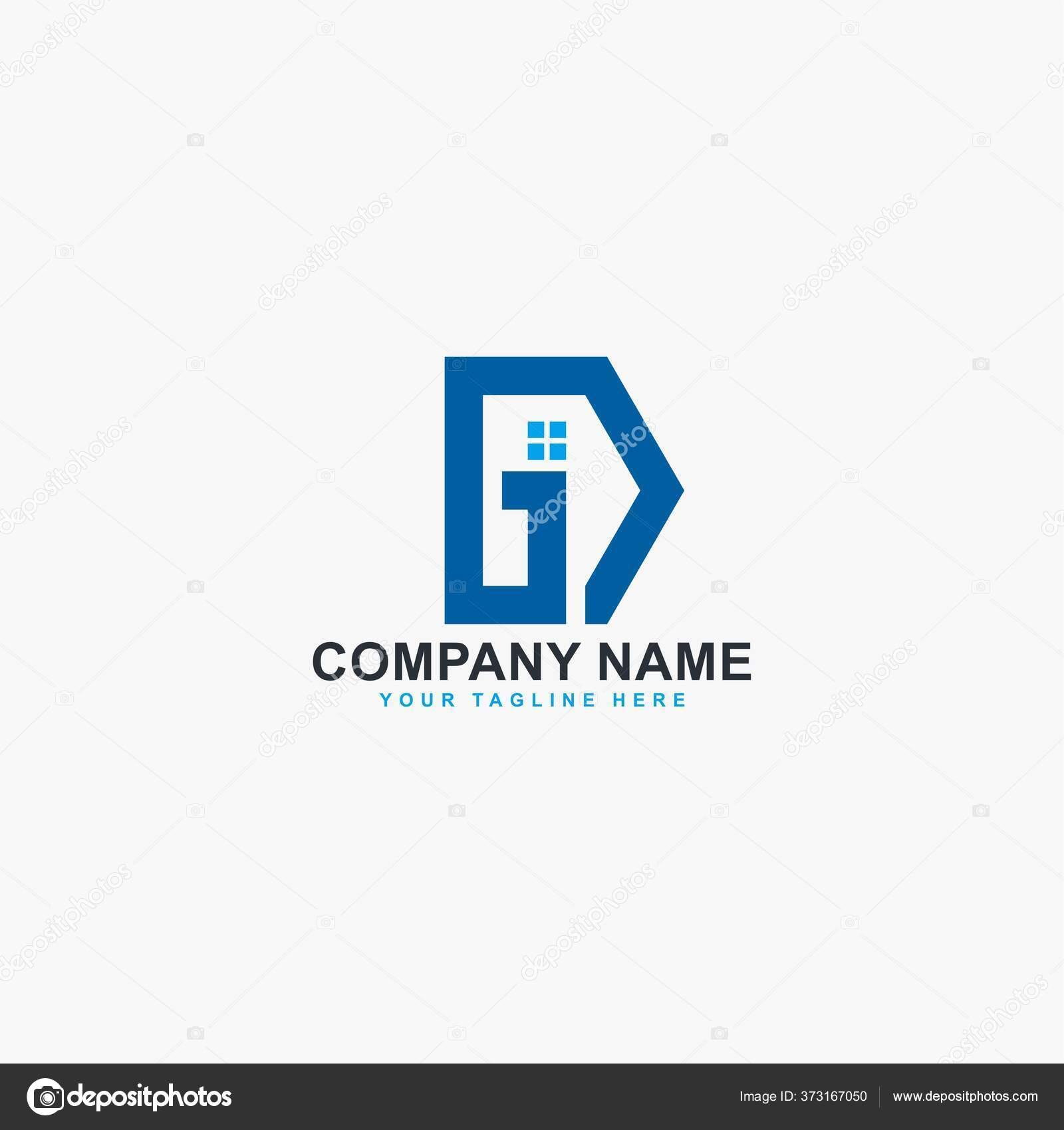 Logo Huruf Vektor Desain Simbol Abstrak Real Estate Logo Tipe Stok Vektor C Dynecreative 373167050