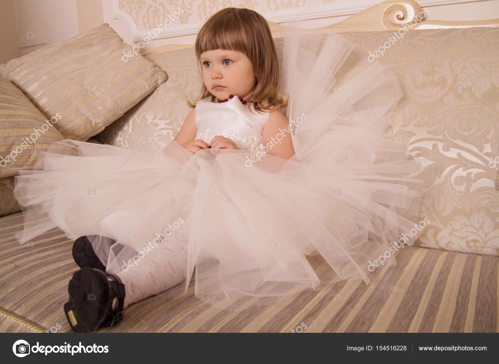 Robe de luxe petite fille