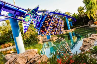 Best coaster in SeaWorld Orlando Florida