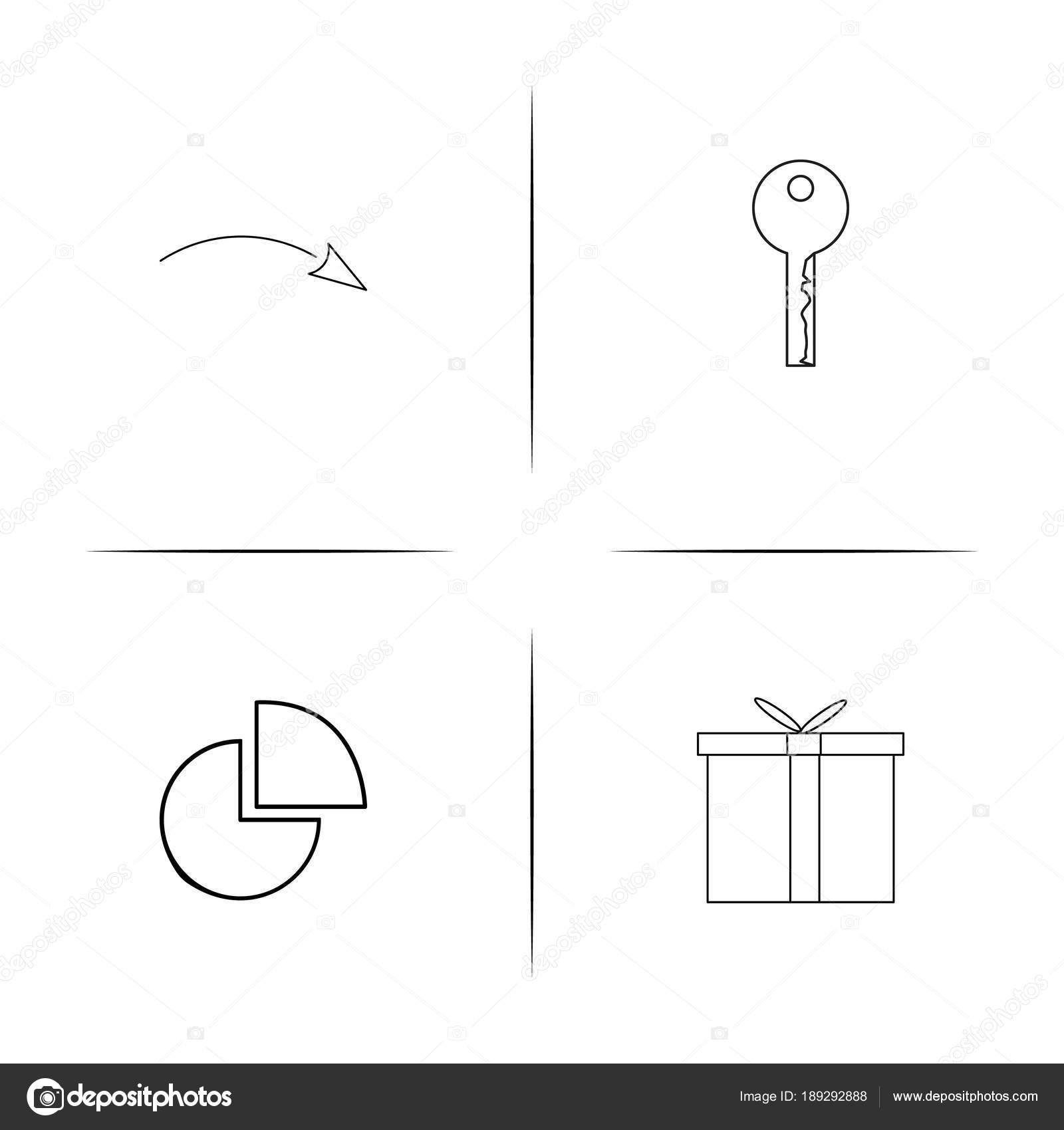 Conjunto de cones linear simples do internet das coisas icons conjunto de cones linear simples do internet das coisas icons vector esboado vetores de ccuart Gallery