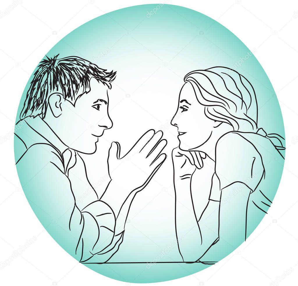 Dating συνομιλίας γραμμές