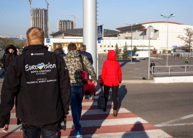 Worker of Eurovision song contest