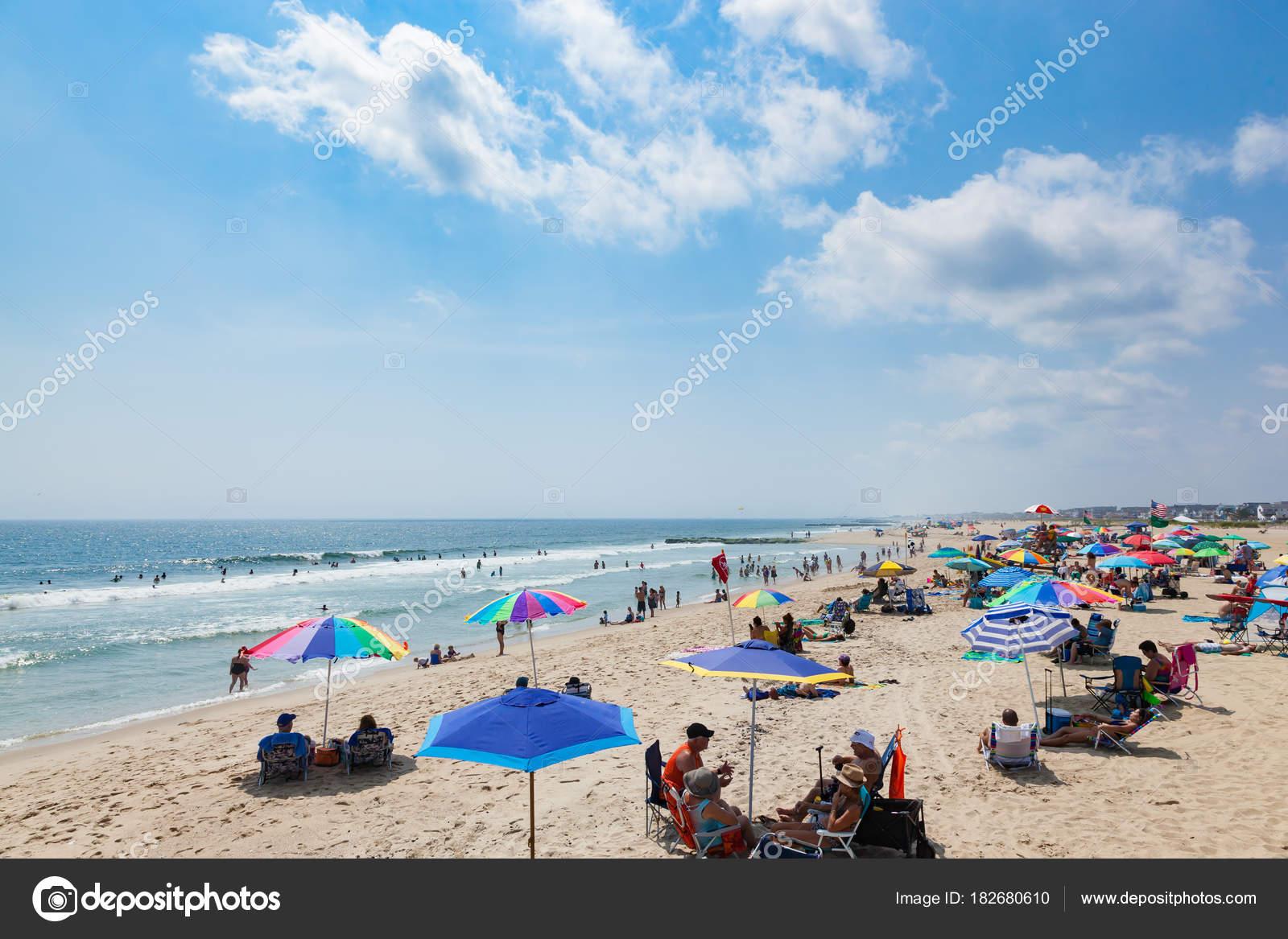 Ocean Grove New Jersey Beach – Stock Editorial Photo