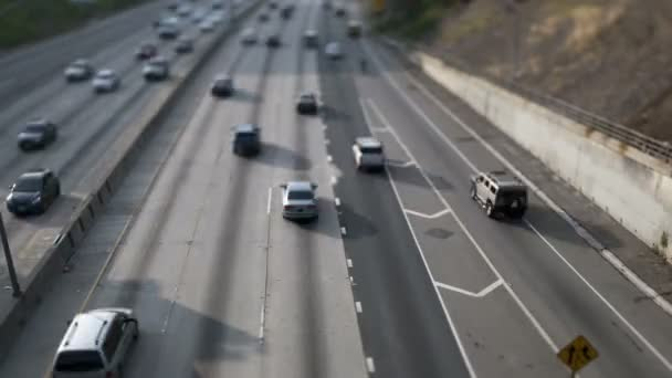 la highway 101 traffic tilt shift