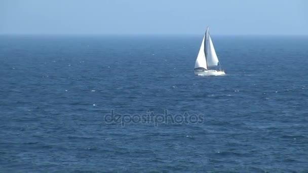 vitorlás hajó, vitorlázás, óceán, Spanyolország