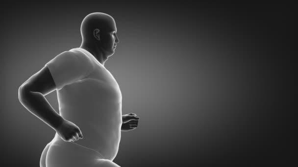 fare jogging uomo obeso perdere peso