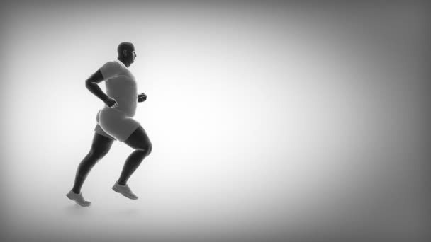 jogging obézní člověk zhubnout