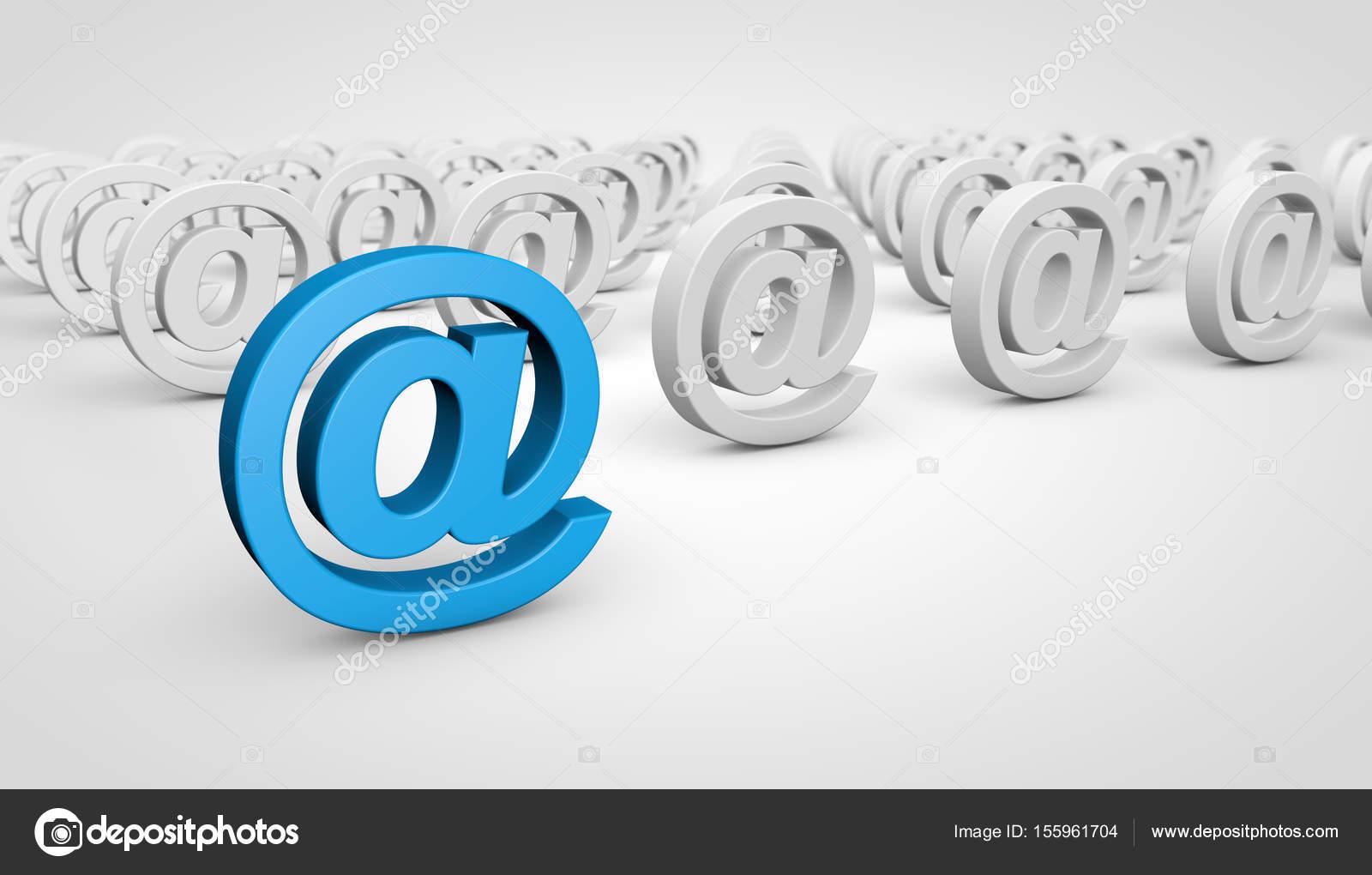 Web Contact Us At Symbol Concept — Stock Photo © NiroDesign #155961704