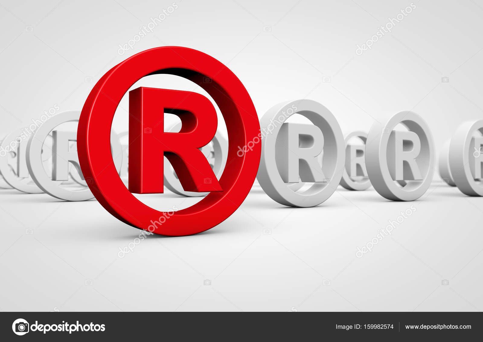 Business registered trademark symbol stock photo nirodesign business registered trademark concept with red icon and many others mark symbol on background 3d illustration photo by nirodesign biocorpaavc Gallery