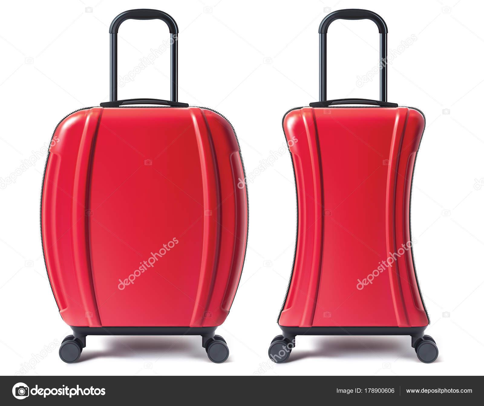 旅行かばんが分離されましたベクトル 3 D イラスト ストックベクター