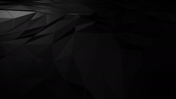 Abstract polygonal space low poly with connecting surface. Futuristic HUD background
