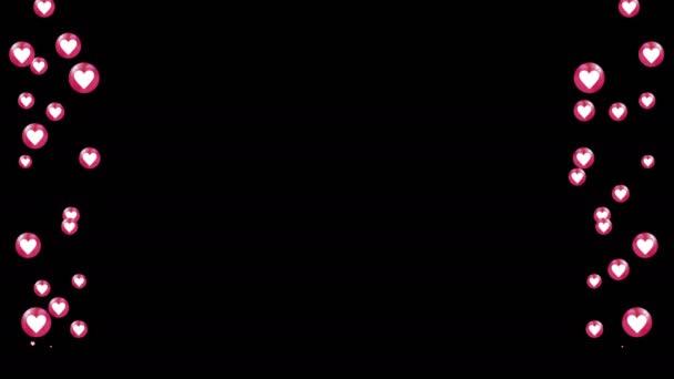 fliegende Emojis zum Überblenden auf Video. Ziehen Sie einfach das Video mit dem Schwarz-Weiß-Kanal auf Ihre Videos. Verwenden Sie die Maske auf dem Video, um einen Alphakanal zu erstellen. Kanal durch Farbtastung skaliert