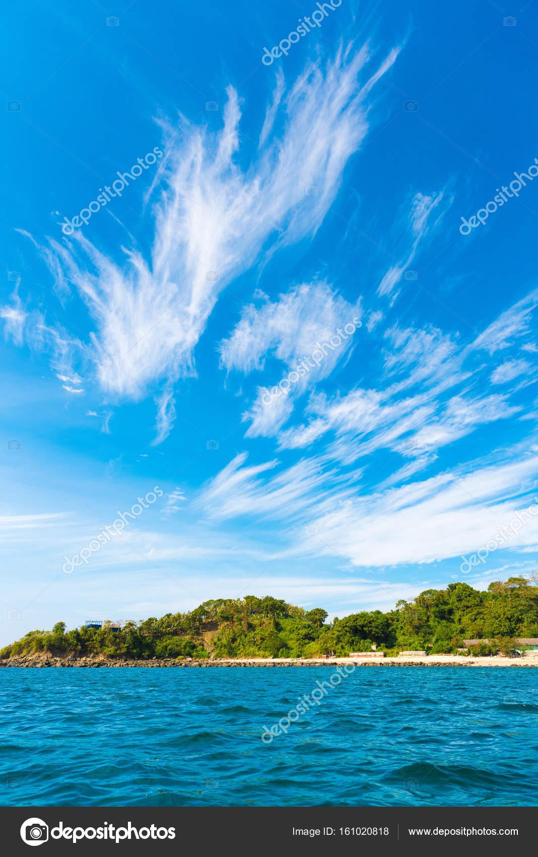 Paysage de la plage de ngapali myanmar copiez l espace for Paysage espace