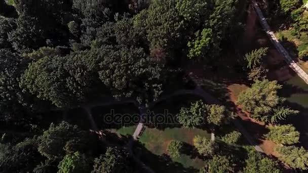 Letecké panorama slavného zámku Bojnice, Slovensko