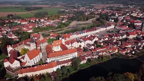Letecká staré město Telč, Česká republika