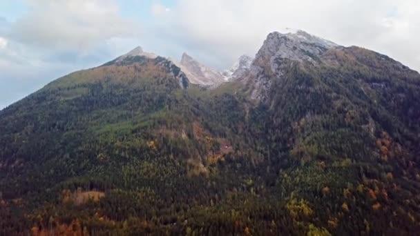 Zeitraffer-Flug über Watzmann und Hochkalter, Berchtesgaden, Deutschland
