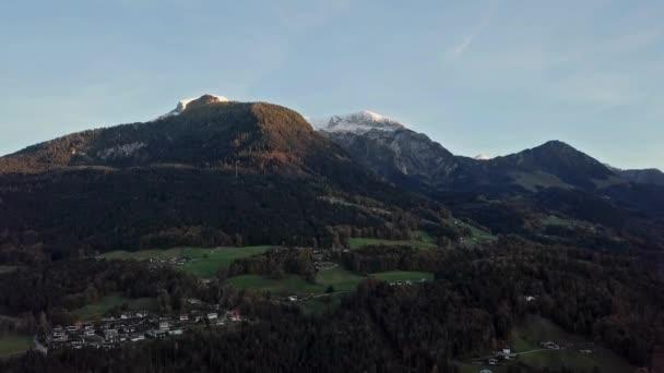 Zeit, Zeitraffer-Flug über Berchtesgaden, Deutschland