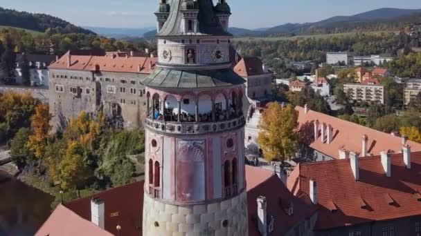 Let Český Krumlov tower a okolí